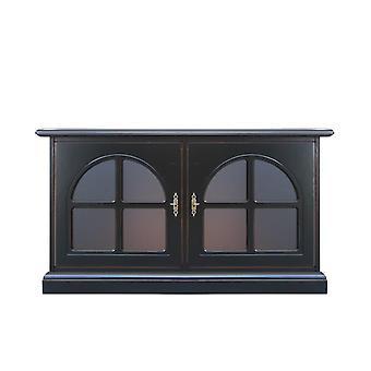 Low sideboard 2 doors 'Dark';