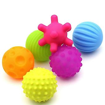 Cute Shape Design, Soft Rubber Textured, Multi-sensory Tactile Ball Toy
