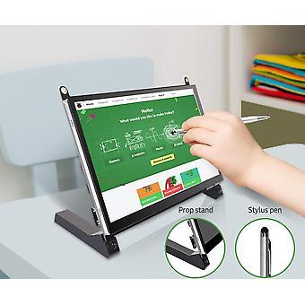 Monitor Raspberry Pi Touch Screen 7-inch 1024x600 met dubbele luidsprekers draagbaar