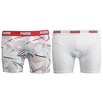 بوما 2 حزمة رجال الملابس الداخلية الملاكم شورت تمتد الخصر الأبيض 499130 300 R