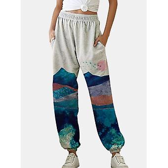 Loose Joggers Wide Leg Pantaloni de trening pantaloni femei