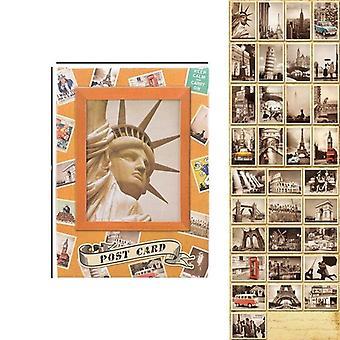 Classical Famous Vintage Postcards