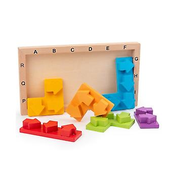 Educational Toys Three-dimensional Jigsaw Puzzle Wisdom Arrow Block Puzzle Game Children's Thinking Training Game