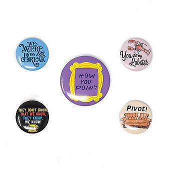 Badge de citation d'amis (Pack de 5)