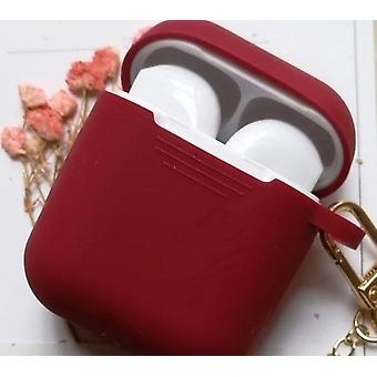 Protective Cover Bag Box Earphone Case Keyring