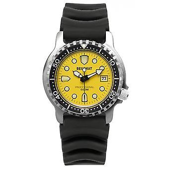 Men's watch BEUCHAT MONTRES BEU0515-3 - Black Silicone Bracelet