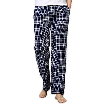 Sommer Baumwolle Schlaf Bottoms Sleepwear Hose Casual Plaid Home Hose