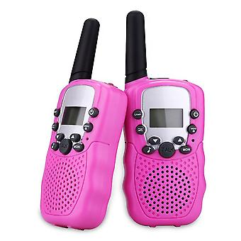 Children Walkie Talkies Toy, Two Way, Radio Uhf, Long Range, Handheld