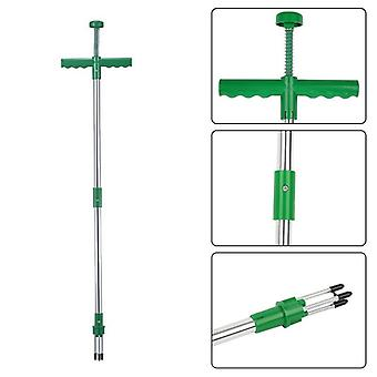 Claw Weeder Portable Manual Garden Lawn Long Handled Root Remover