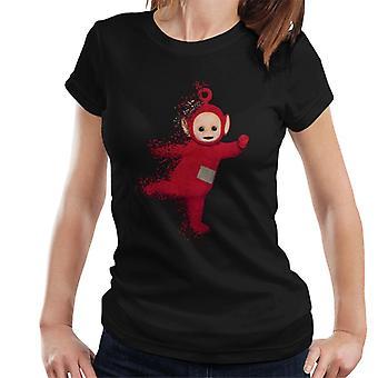 Teletubbies Po Fading Women's T-Shirt
