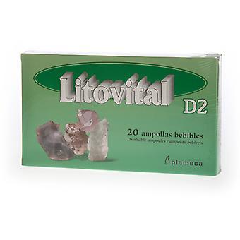 Plameca Litovital D2 20 Ampoules