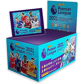 Panini&s 2021 פרמייר ליג אוסף מדבקות (100 חבילות)