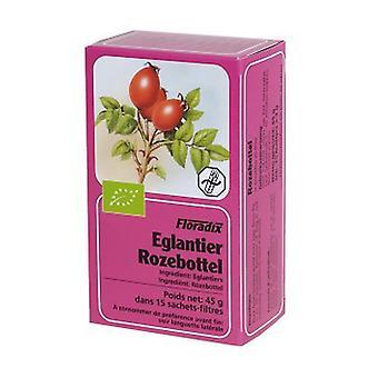 Rosehip Herbal Tea 15 infusion bags