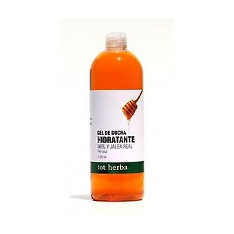 Honey-Royal Jelly Moisturizing Bath Gel 1 L of gel
