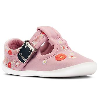 Clarks Roamer Sun T Girls Canvas Shoes