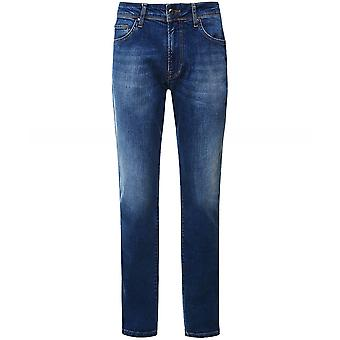 Hackett Slim Fit Vintage Wash Jeans