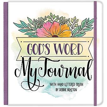 Gods Word My Journal Cloth Spine Journal by Debbie Bratton