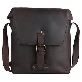 Ashwood Nahka Monti Medium Messenger Laukku - Tan