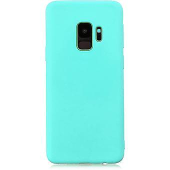 HaiFei Samsung Galaxy S9+ Plus Hlle Case+ 1 x Panzerglas Schutzfolie. Silikon Schutzhlle