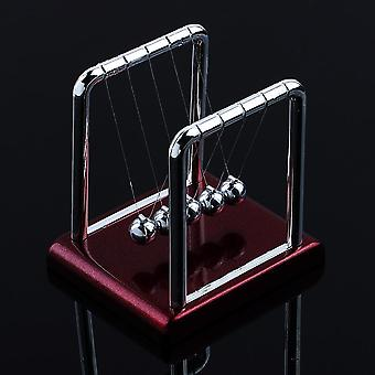 Newtons Cradle Steel Balance Ball, Early Fun Development Educational Desk Toy
