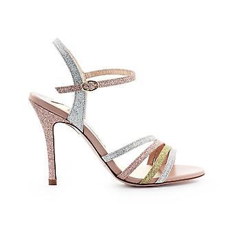 Roberto Festa Fortei Glitter Gold Silver Pink Sandal