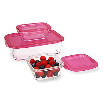 Set of lunch boxes Luminarc Keep'n Box (3 pcs)