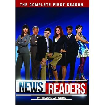 Uutistenlukijat: The Complete First Season [DVD] USA:n tuonti