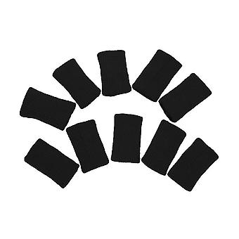 10pcs Sports Finger Cover Sweatband Stretchy Wrap Finger Sleeve Arthritis
