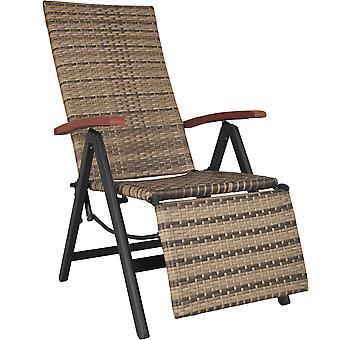 tectake hvilestol med fotstøtte