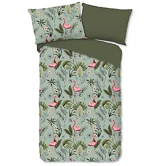 bed cover Mila 135x200 cm cotton green