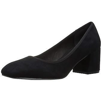 Kenneth Cole New York Womens Eryn Suede Square Toe Classic Pumps