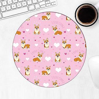 هدية Mousepad : كورجي الكلب الحيوانات الأليفة
