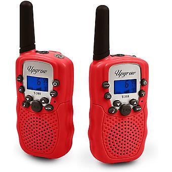 FengChun 2X Walkie Talkies Set Kinder Funkgerte 1-3KM Reichweite 8 Kanle mit Taschenlampe Walki