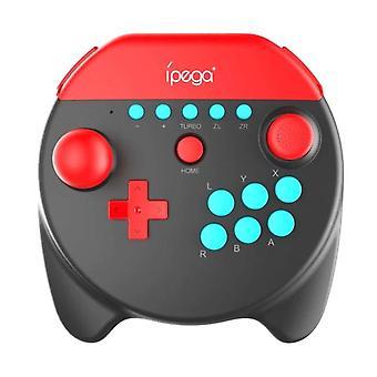 Bluetooth Bezdrátový Gamepad pro Nintendo Switch NS Lite Game Controller Joystick (černá)