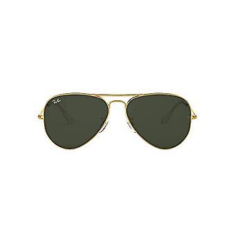 Ray-Ban RB3025 Aviator Sonnenbrille, Herren, Gold, 62 mm