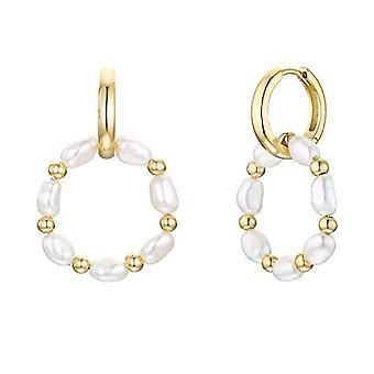 NOELANI Silver Hoop Earrings 925(13)