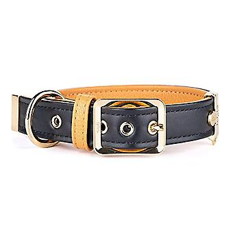 My Family Adjustable Collar in Real Leather Made in Italy Hermitage Collection(7)