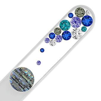 Swarovski crystal nail file B-M - Blue