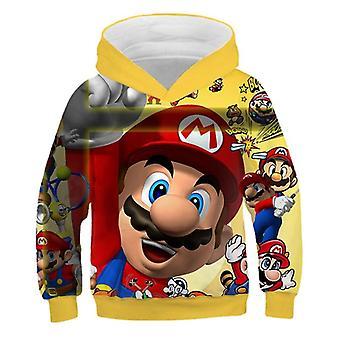 Impression 3D, Super Mario Cartoon Sweatshirt à capuche pour Set-3