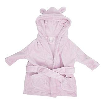 Bambino Babys erster Bademantel - 3 bis 6 Monate - Rosa