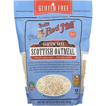 Bobs Red Mill Oatmeal Scottish Gf, Case of 4 X 20 Oz