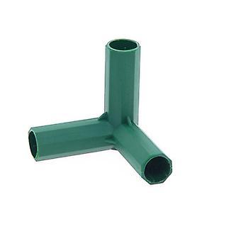 Connecteur de tuyau de support en PVC Connecteur de bâtiment à cadre de serre robuste