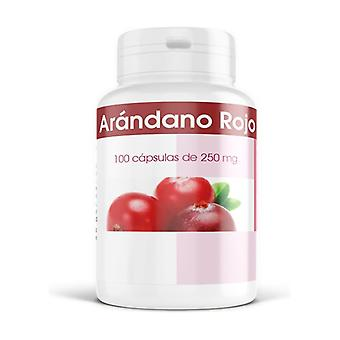 Cranberry 250 mg 100 capsules of 250mg