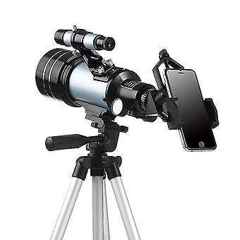 MaiFeng 15/25/50X HD Refractive Astronomical Telescope FMC BAK4 Prisma Zoom Monokular mit Telefonclip