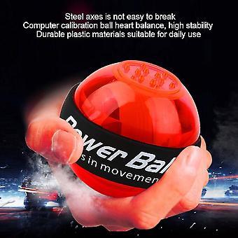 Nyhet Fitness Gyroskop Power Ball Ledde handled arm övning stärkare boll