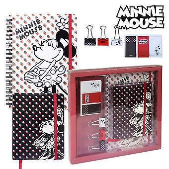 Conjunto estacionario Minnie Mouse (8 piezas)