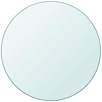 vidaXL table top in tempered glass round 300 mm