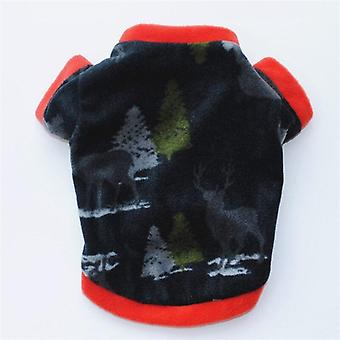 小さな犬の子犬の衣装のためのキリストマス古典的なパターンの犬のパーカー暖かいセーターペットコートのための冬の暖かいペットの犬のジャケット