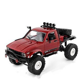 1: 16 WPL C14 RC Грузовик 2CH 4WD Масштаб 2.4G Дорога Скалолазание Автомобиль Дети Подарки Игрушки Модель Игрушки| RC Грузовики (красный)