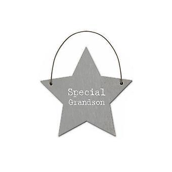 Spesielle Barnebarn - Mini Tre Hengende Stjerne - Cracker Filler Gift